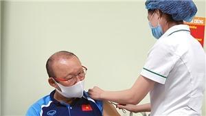 HLV Park Hang Seo đã được tiêm vaccine ngừa Covid-19