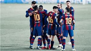 Trực tiếp bóng đá Barcelona vs Valladolid: Ngày tình yêu trở lại Camp Nou