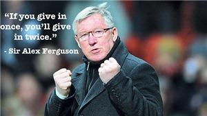 """""""Sir Alex Ferguson: Never Give In"""": Câu chuyện rất đời của một huyền thoại bóng đá"""