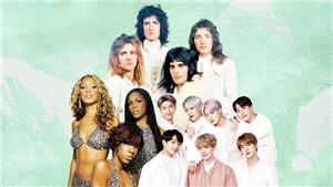 Top 10 ban nhạc pop nổi tiếng nhất mọi thời: BTS đại diện cho châu Á