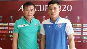 Cầu thủ Than Quảng Ninh tri ân HLV Phan Thanh Hùng