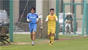 Quang Hải vẫn phải tập riêng ở đội tuyển Việt Nam
