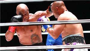 Mike Tyson hòa Roy Jones Jr. trong ngày tái xuất