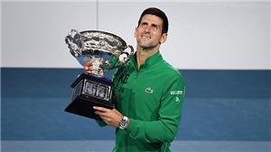 Tennis: Không Federer, Djokovic số một, bất ngờ Rublev