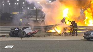 Chặng Bahrain Grand Prix: Đằng sau tai nạn kinh hoàng của Grosjean