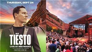 Doanh thu đêm nhạc của DJ Tiesto sẽ dành cho từ thiện
