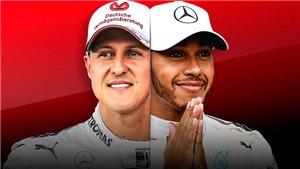 Đi tìm tay đua F1 vĩ đại nhất: Schumacher hay Hamilton?
