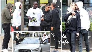 """Mahrez xuất hiện công khai bên """"người tình tin đồn"""" của Aguero"""