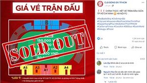 Trực tiếp TPHCM vs Hà Nội: Mọi ngả đều dẫn về Thống Nhất