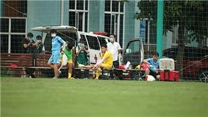 Nhiều cầu thủ U22 Việt Nam dính chấn thương