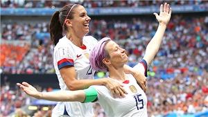 Đấu tranh đòi bình đẳng: Cú sốc cho bóng đá nữ Mỹ