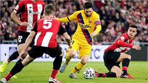 Trực tiếp bóng đá Barcelona vs Bilbao: Barca đang trả giá vì lệ thuộc Messi
