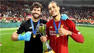 Liverpool: Giữ Van Dijk và Alisson mới là quan trọng nhất