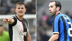 Juventus và Inter: Điều gì đang xảy ra với De Ligt và Godin?