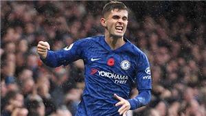 Chelsea: Pulisic trên con đường thay thế Hazard