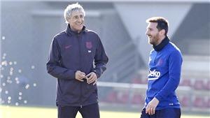 Barcelona: Setien mở cuộc chiến với Messi