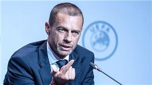 Bóng đá châu Âu không hẹn ngày trở lại: Thức tỉnh lương tri đi ngài Ceferin!
