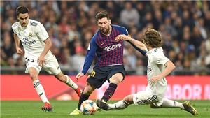 'Kinh điển' Barca vs Real Madrid bị ảnh hưởng vì chính trị