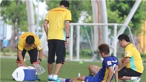 Bác sĩ Nguyễn Trọng Thủy: Chấn thương của cầu thủ là bất khả kháng'