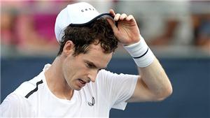 Tennis: Andy Murray trở lại là… thua