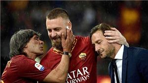 De Rossi chia tay Roma: Và nước mắt lại rơi trên sân Olimpico