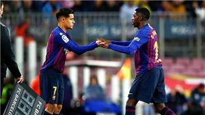 Barca: Coutinho, Dembele và nội chiến siêu anh hùng