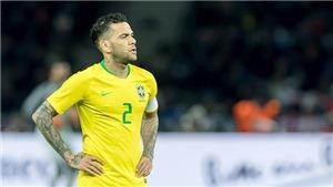 Dani Alves: Nhân chứng lịch sử của người Brazil
