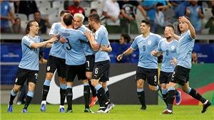 Uruguay đánh bại Ecuador 4-0: Thông điệp của ứng cử viên vô địch