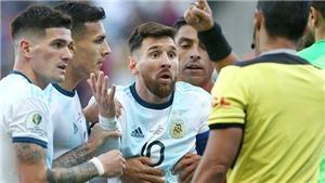Nếu Messi bị cấm, Argentina sẽ ly khai bóng đá Nam Mỹ