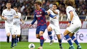 Barca thua Chelsea 1-2: Griezmann căng cứng, Busquets là một vấn đề