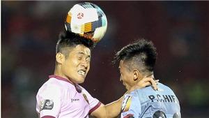 Tỷ số 0-0 ở V-League
