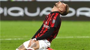 Milan 3 trận liền không thắng: Thêm một bước lùi, thêm một nỗi thất vọng