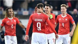 UEFA Nations League 2019: Khi Thụy Sĩ không còn là ngựa ô