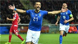 Đội tuyển Italy; Quagliarella, giá trị của 'gừng già'