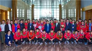 Xuân thêm nồng với bóng đá Việt Nam