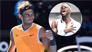 Rafael Nadal đối đầu hiện tượng Frances Tiafoe ở tứ kết: Màn tái ngộ đặc biệt