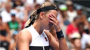 Australian Open 2019: Victoria Azarenka tái xuất với cái kết buồn