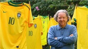 Aldyr Garcia Schlee: Cha đẻ màu áo vàng xanh huyền thoại của Brazil