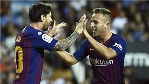 Arthur Melo: Leo Messi giúp tôi chói lòa