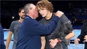 Zverev tỏa sáng nhờ hiệu ứng Ivan Lendl