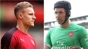 Cuộc chiến trong khung gỗ Arsenal: Cech đang tạm dẫn trước Leno
