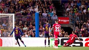 Barca đang bất ổn trong phòng ngự