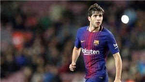 Số phận chọn Sergi Roberto là hậu vệ phải số 1 của Barca