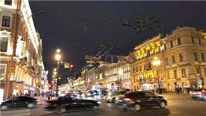Không ngủ ở Saint Petersburg