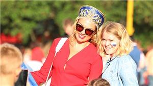 Mũ Kokoshnik gây ấn tượng tại World Cup 2018