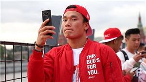 Những ngôi sao bóng đá Việt Nam ở Moskva