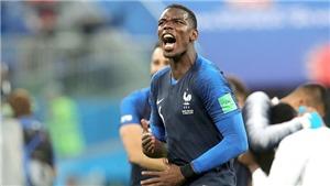 Mờ nhạt ở M.U, nhưng Pogba đang là ngôi sao sáng bậc nhất ở World Cup