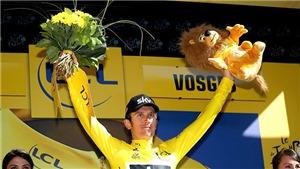 Geraint Thomas giành áo vàng Tour de France 2018: Niềm tự hào Xứ Wales