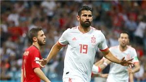 Tây Ban Nha vs Ma rốc: Sống nhờ Diego Costa. Trực tiếp VTV6 (01h, 26/6)
