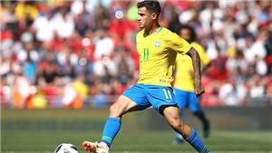 Serbia 0-2 Brazil, Thụy Sỹ 2-2 Costa Rica: Coutinho tỏa sáng, Brazil và Thụy Sĩ giành vé đi tiếp